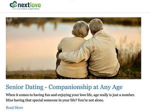 Funksjon, Sikkerhet, Omdømme, Kundeservice, Tips , Priser, Slette kontoen, Fordeler, Ulemper , Next Love, sex, porno erotisk, Senior dating